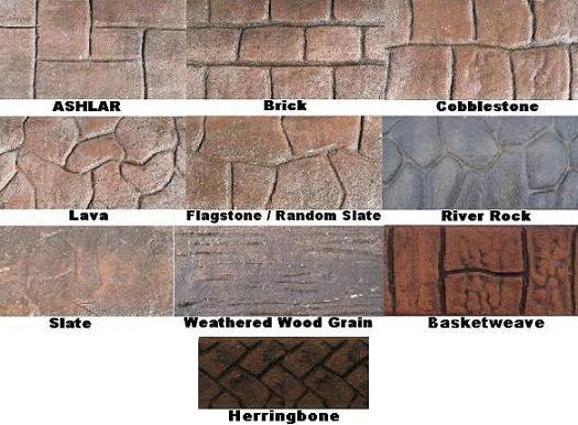 Stamped Concrete Trim : Best concrete edging ideas on pinterest
