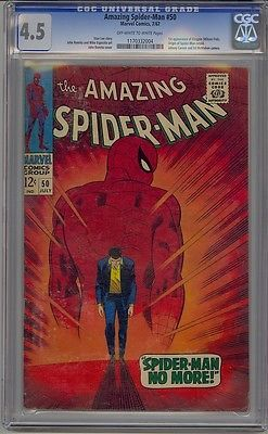 #Amazing spider-man #50 cgc 4.5 1st #kingpin #daredevil netflix,  View more on the LINK: 	http://www.zeppy.io/product/gb/2/391196827953/