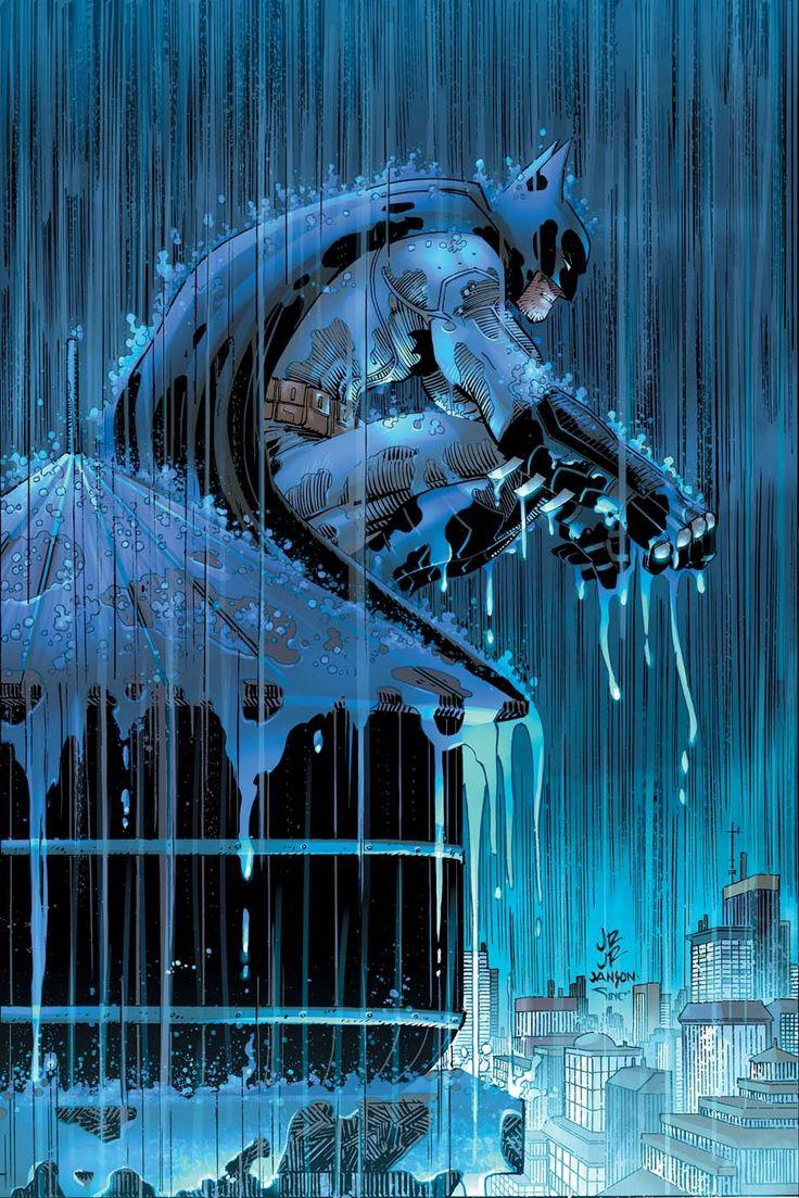 Batman #51 - Variant cover by John Romita Jr. and Klaus Janson