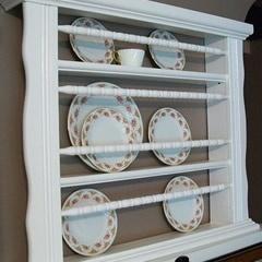 Plate Rack from Repurposed CribIdeas, Repurpoed Cribs, Plates Racks, Display, Repurpoed Furniture, Diy, Nurseries Furniture, Baby Furniture, Baby Cribs