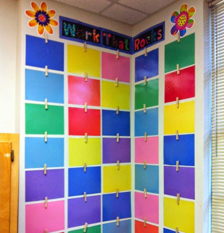 These teachers are the boss of their classroom walls, and with some hot glue and tape and sticktoitiveness, you can rule your walls, too.