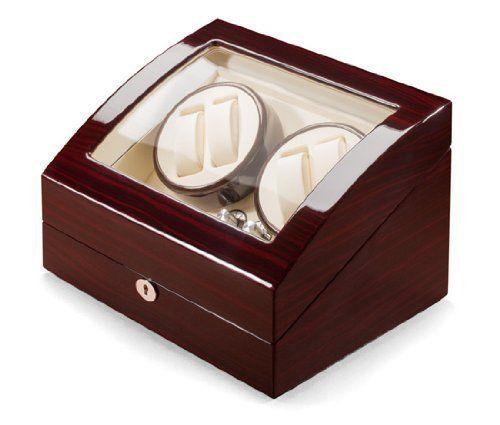 UhrTrieb Uhrenbeweger Beta - makassar / beige f�r 4+5 Uhren UTR-03-23-23