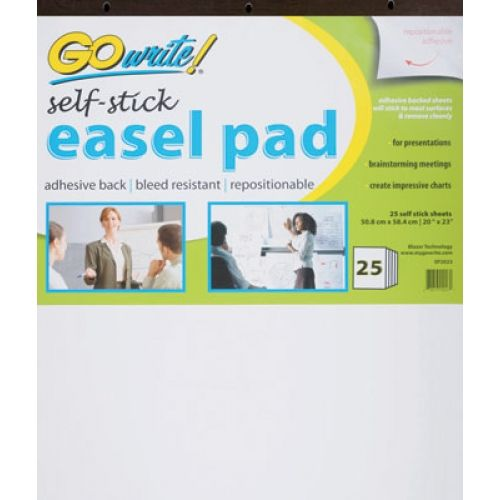 Self-Stick Easel Pads, GoWrite!®, PACSP2023