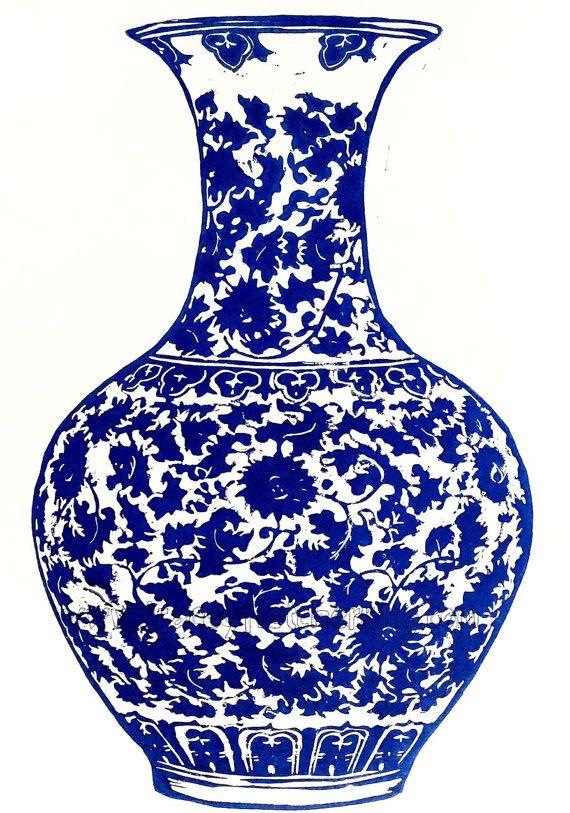 Chinoiserie Vase by TraceyFletcherKing on Etsy