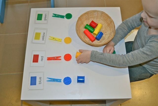 Five Things - Activities using coloured tokens