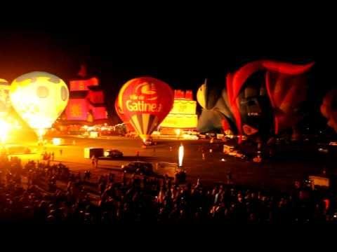 Festival de montgolfières de Gatineau :: Night glow