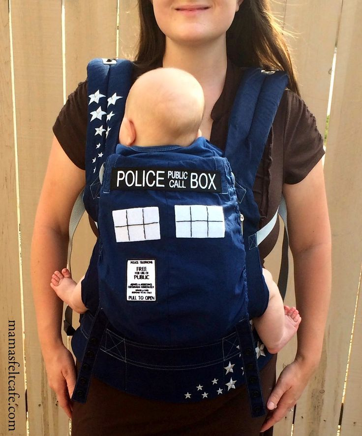 Mama's Felt Cafe: How to turn an Ergobaby Carrier into a TARDIS