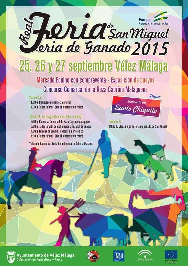 La Real Feria de Ganado de San Miguel de Vélez Málaga recupera viejas tradiciones