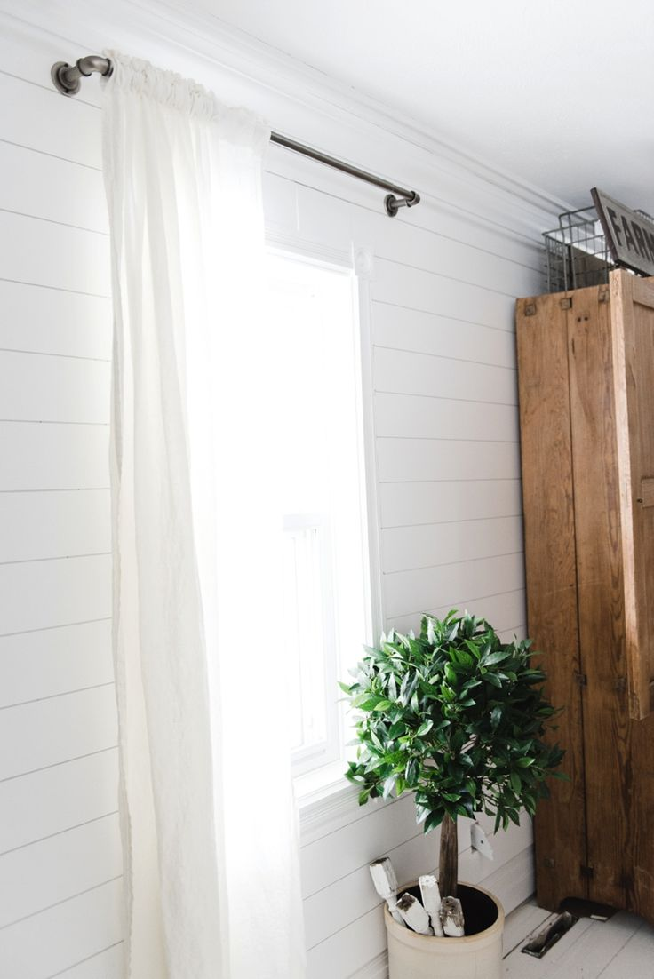 Affordable Industrial Farmhouse Pipe Curtain Rods |
