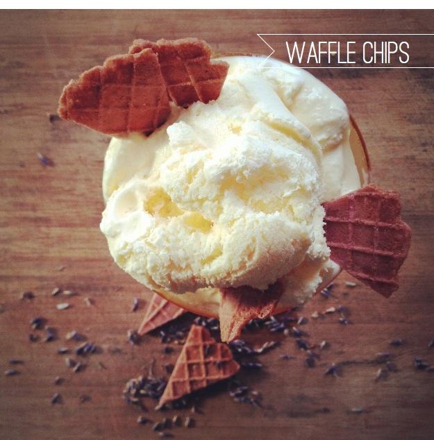 Ampersand's New Ice Cream Cone Chips: Honey Lavender