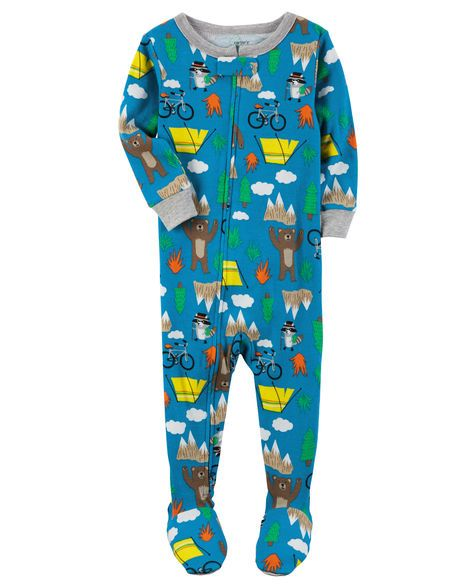 Baby Boy 1-Piece Snug Fit Cotton PJs from Carters.com. Shop clothing & accessories from a trusted name in kids, toddlers, and baby clothes.