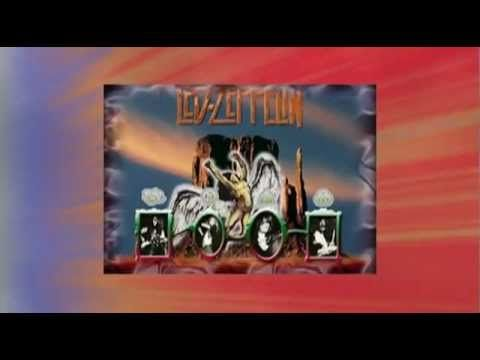 Led Zeppelin Live - Ramble On 1970 - Video Special Effects°°° - YouTube