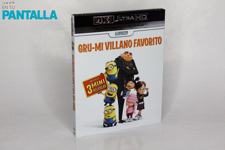 Análisis 4K Ultra HD: 'Gru. Mi villano favorito'. Imagen y edición impecable