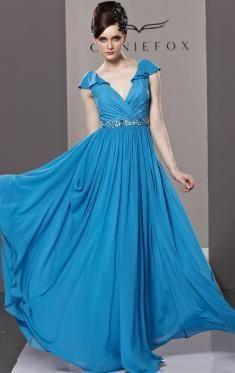 Robe de soiree bleu grande taille