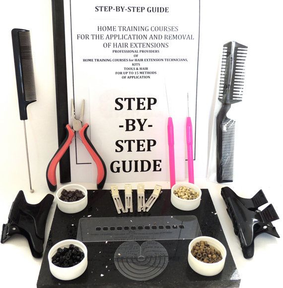 Micro Ring Micro Bead Hair Extension kit by MirrorMirrorSalonPro
