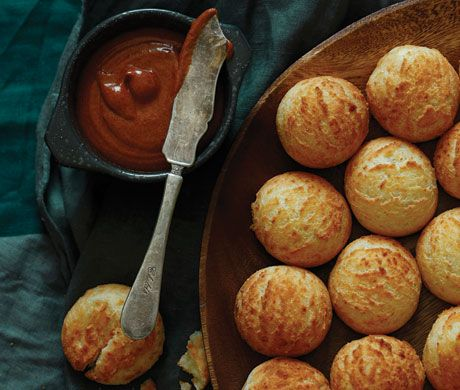 Find the recipe for Pan de Yuca  and other dairy recipes at Epicurious.com