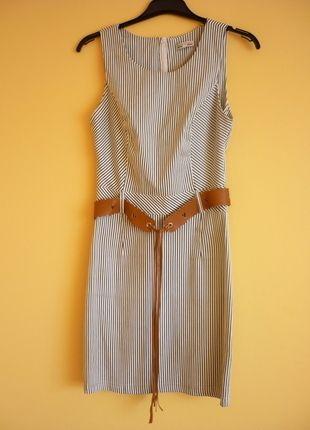 Kup mój przedmiot na #vintedpl http://www.vinted.pl/damska-odziez/krotkie-sukienki/13760099-sliczna-dziewczeca-sukienka-w-paski-bialo-czarna