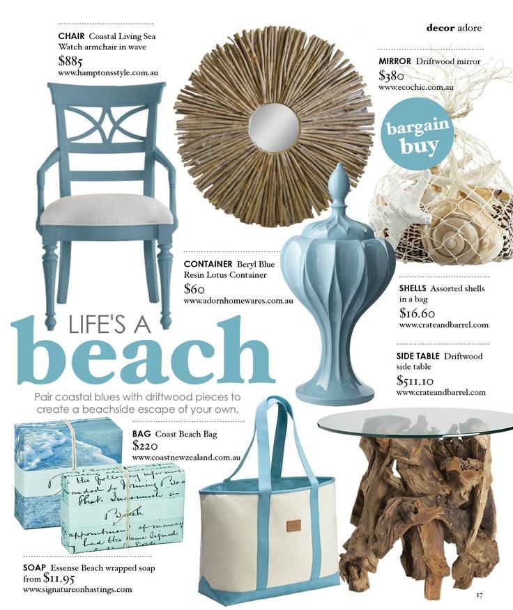 Pin by connie floray on beach decor ideas pinterest for International home decor magazines