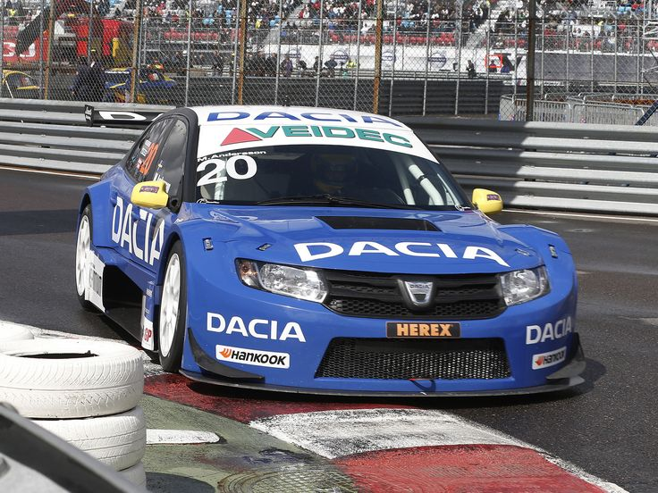 Dacia race car