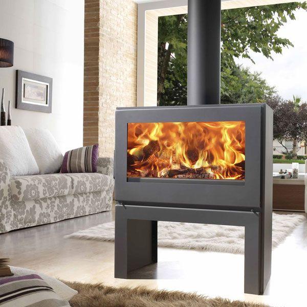 Panadero Nebraska - 8kw Contemporary Wood Burning Stove - £1,150.00