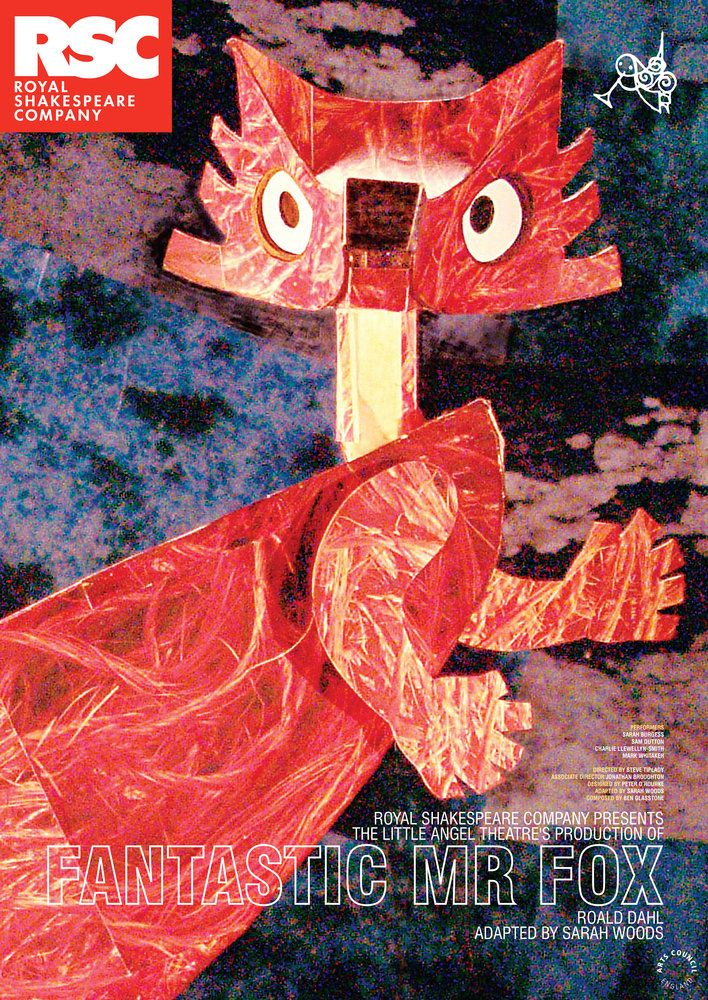 Fantastic Mr Fox, 2007 - Royal Shakespeare Company Posters