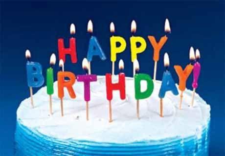 Facebook ASCII Art Symbols for Happy Birthday