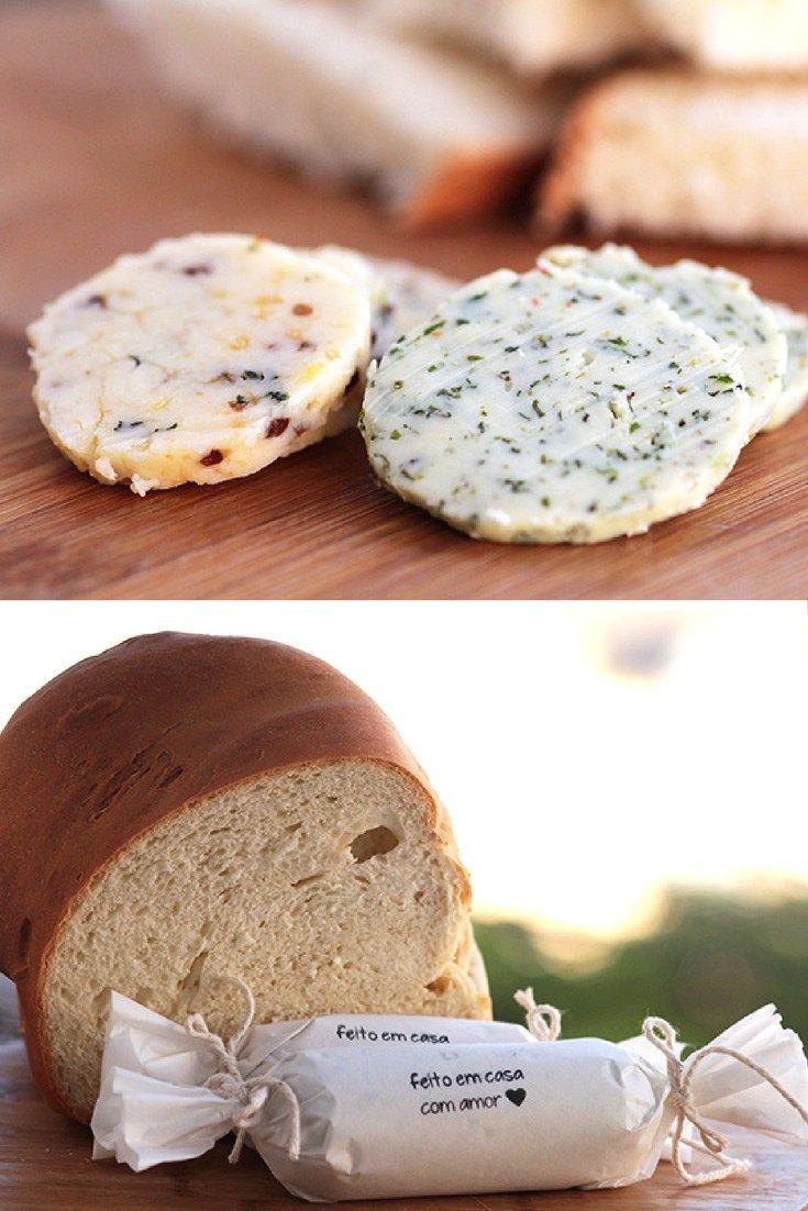 Manteiga temperada Veja como fazer uma manteiga temperada e deliciosa na sua casa. Essa é uma ideia super versátil, você pode preparar com os mais variados sabores. Um deles é mostarda e mel.