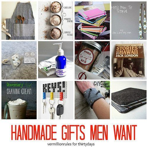 Handmade Gifts Men Want