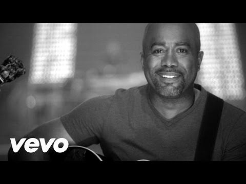 Darius Rucker - Don't Think I Don't Think About It - YouTube