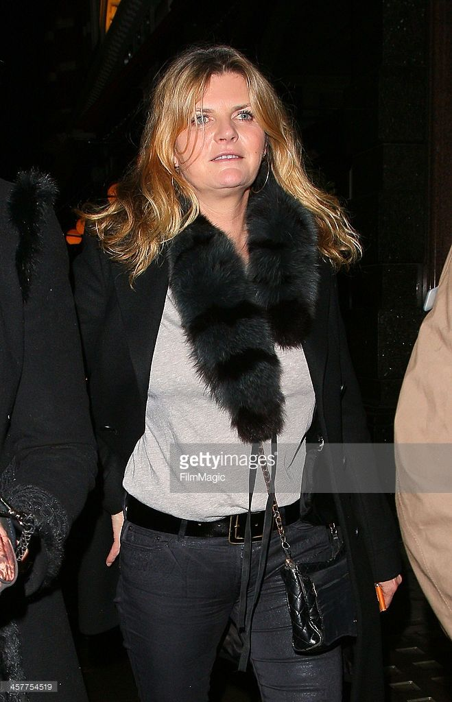 Susannah Constantine leaves Colbert restaurant on December 18 2013 in London England