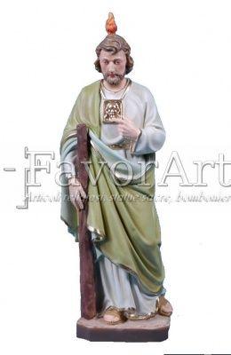 Vendita online di articoli religiosi, statue sacre in resina, bomboniere - Statua di San Giuda Taddeo in resina da cm 30