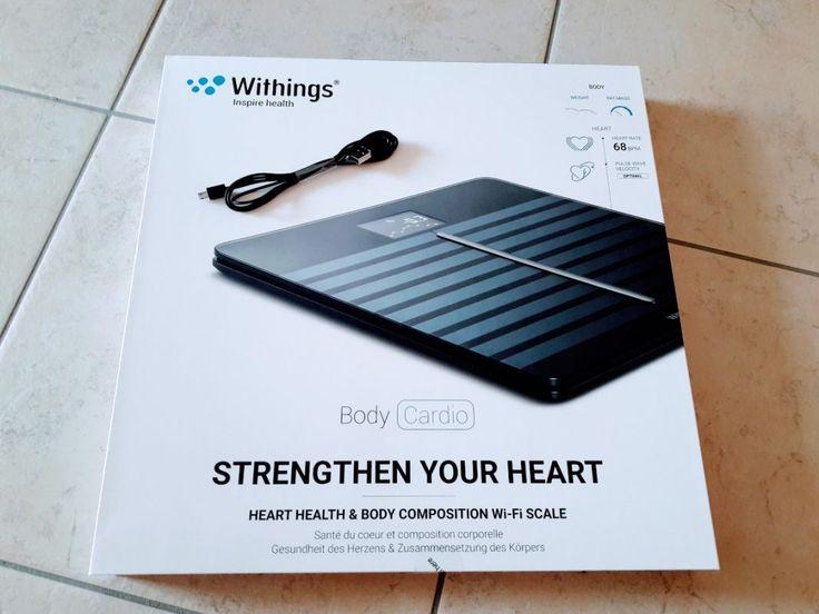 Withings Body Cardio Körperwaage - mein erster Eindruck