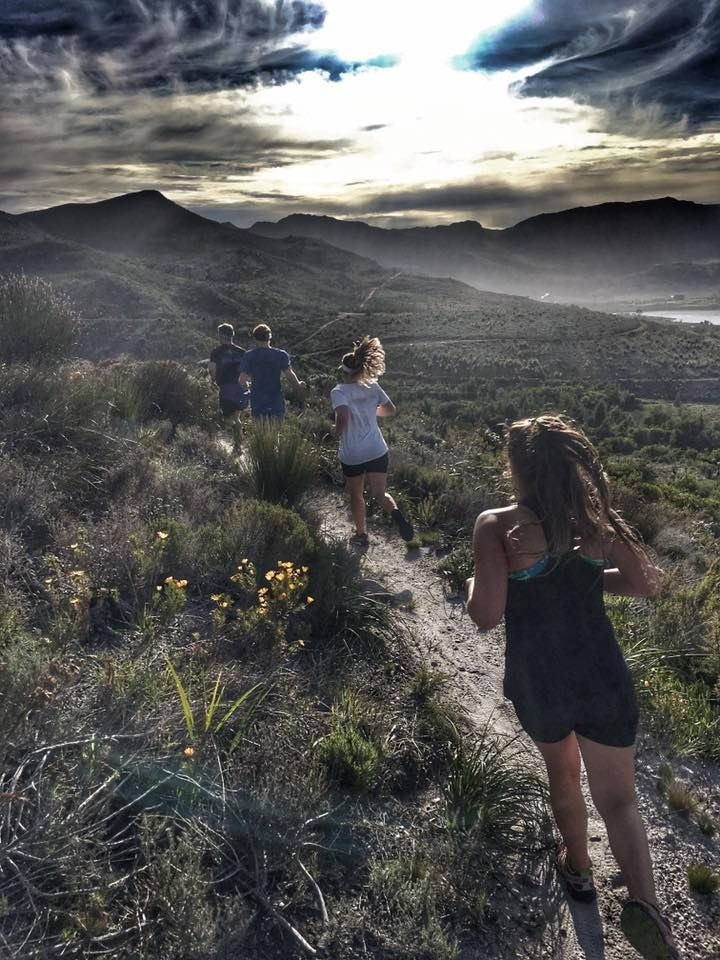 Morning guided run in Elgin with Run Cape Town. Pic by Lee from Tugela Falls. SA adventure summit
