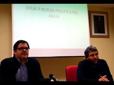 Nueva y vieja política del agua en Murcia - Luis Babiano - Análisis político y programa de Podemos RM