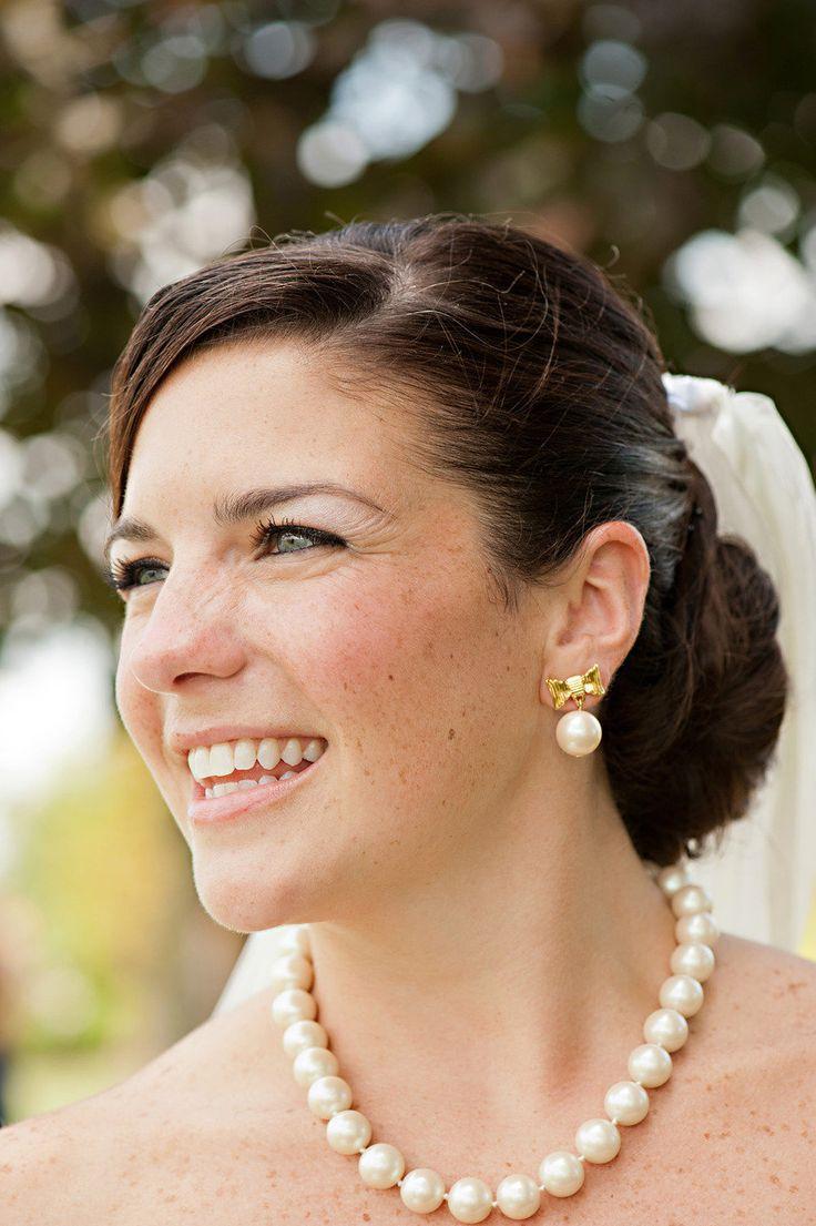 Classic, preppy wedding jewelry