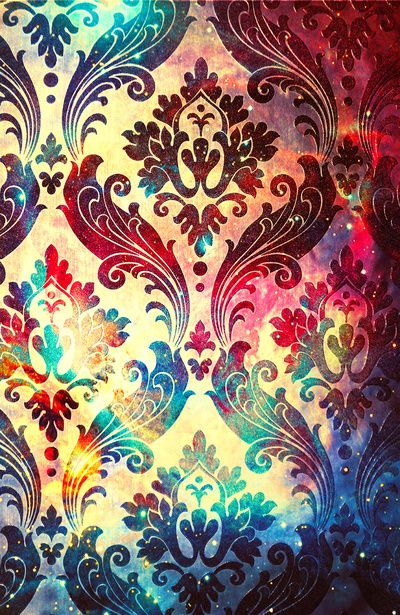 Galaxy Tapestry Art Print F: http://www.pinterest.com/laurhibbert/ornamental-pattern/
