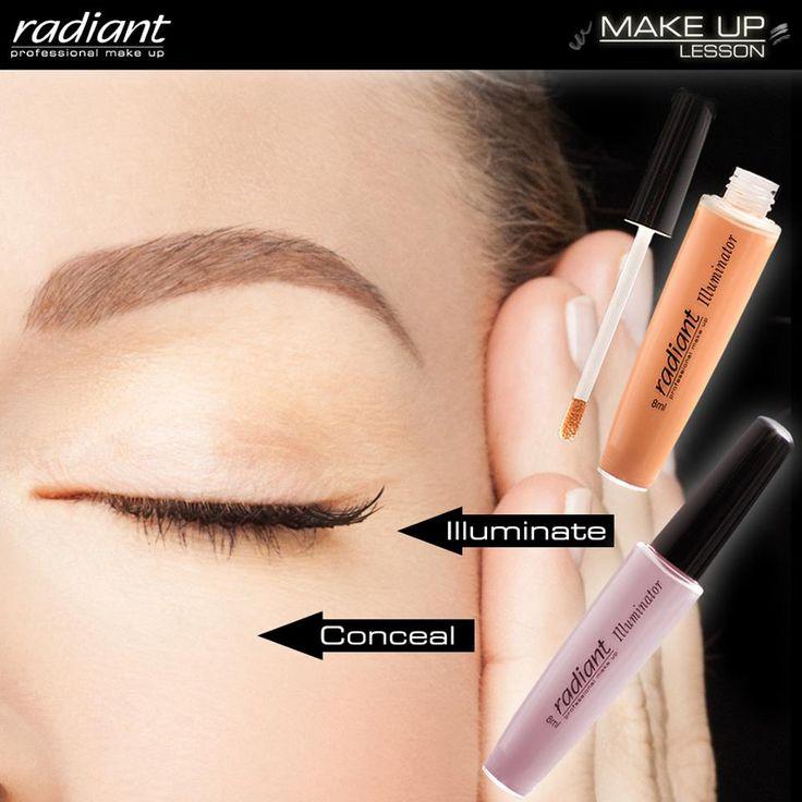 Illuminator | Radiant Professional Make Up Τέλος στα κουρασμένα μάτια! Το υγρό κονσίλερ Illuminator προσφέρει τέλεια κάλυψη των μαύρων κύκλων και μοναδική φωτεινότητα στα μάτια. #Radiant #Professional #makeup #illuminator #concealer