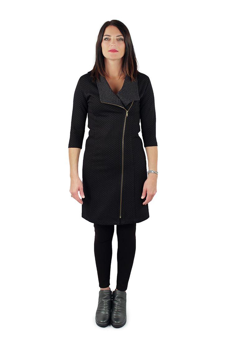Lousje & Bean's Dot Zip Dress