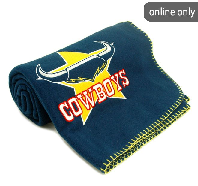 NRL Team Logo Quilt Cover Set and Accessories Range North Queensland Cowboys