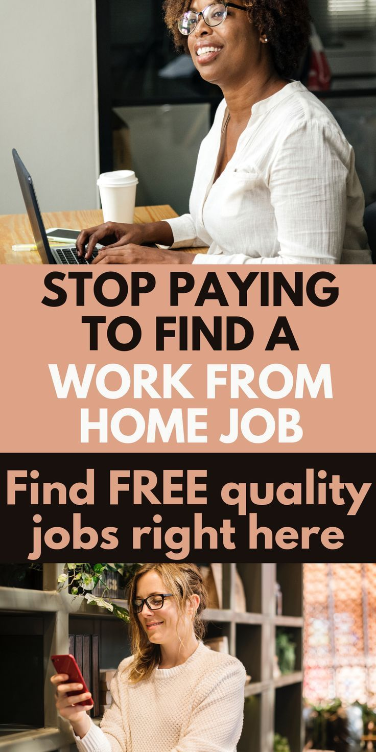 Stop Paying To Find A Work At Home Job Or Remote Work To Travel