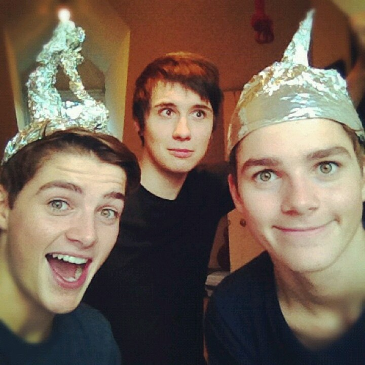 Finn-Dany-Jack lol with telepathy increasing tinfoil hat! Love this video!