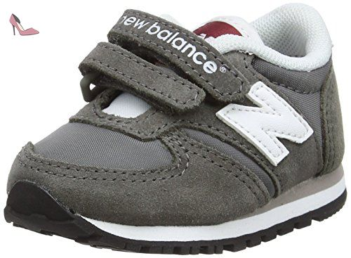 New Balance 420 Hook and Loop, Baskets Basses Mixte Enfant, Gris (Grey), 18.5 EU - Chaussures new balance (*Partner-Link)