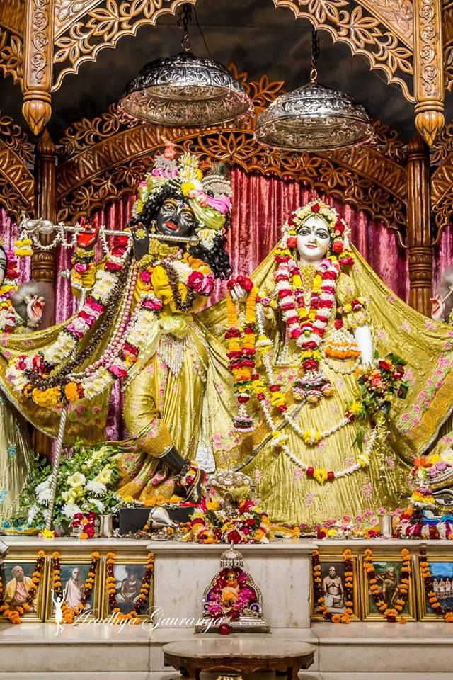 ISKCON Mayapur Deity Darshan 03 Jan 2019 (24) | Most beautiful