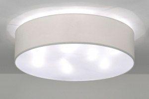 Plafondlamp 71389: Modern, Eigentijds Klassiek, Landelijk, Rustiek