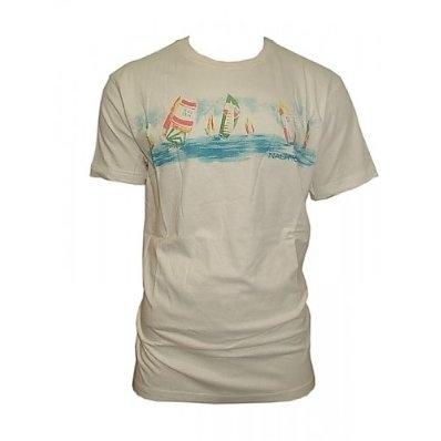 Mens Classic Nautica Design Logo Crew Neck T-Shirt £6.99