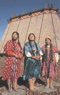 Yakama Nation Cultural Center Toppenish Washington  could they be the Grandmothers?