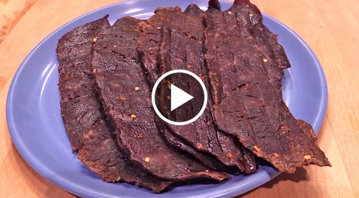 Don't have a dehyrdator? No worries. This recipe calls for an oven and it's easy to do, too! Troy from the T-Roy Cooks YouTube channel has a brilliant recipe...