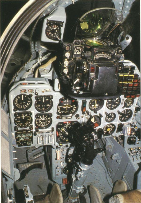 Yak-38 cabin