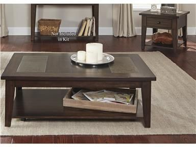 Shop+for+Liberty+Furniture+3+Piece+Set,+682-OT-3PCS,+and+other+Living+Room+3+Pack+Table+Sets+at+Arthur+F.+Schultz+Furniture+in+Erie,+PA.+Poplar+Solids+&+Birch+Veneers.Plank+Accents.+Tapered+Block+Legs.+Wood+&+Peg+Accents+Give+Craftsman+Feel.+Natural+Slate+Inserts.+Castered+Cocktail+Table.