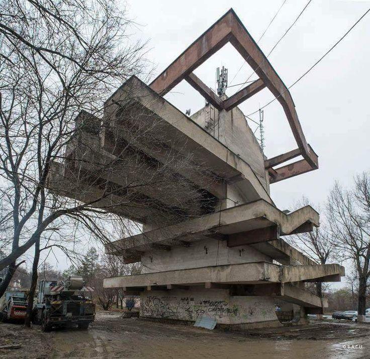 Cable car station, Chisinau, Maldova